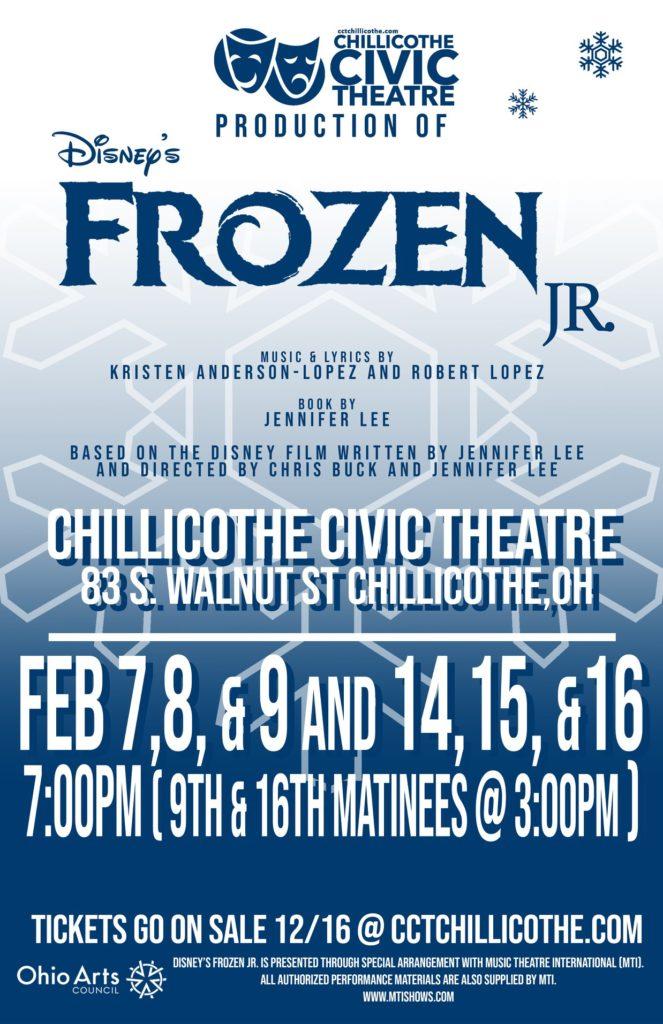 Frozen Jr Poster