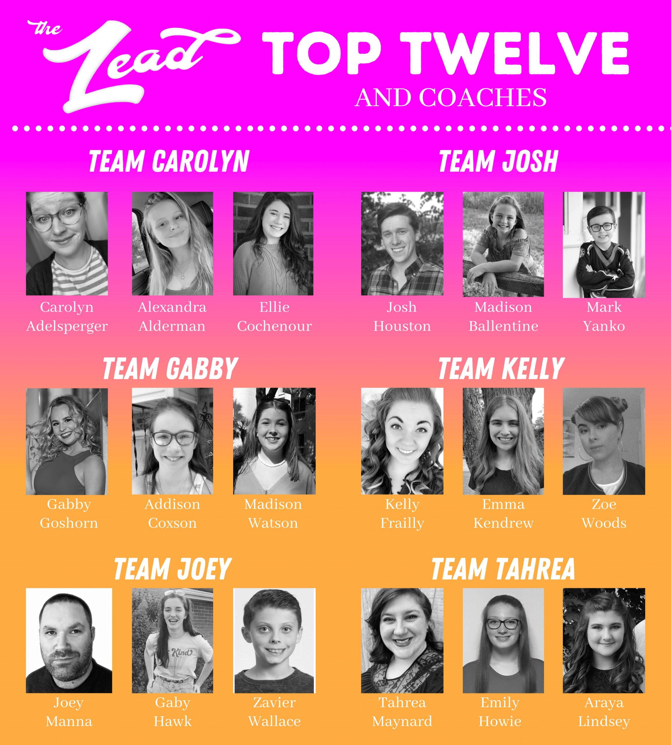 The LEAD Top 12